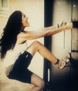 woman.door
